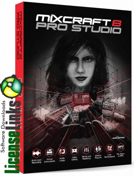Mixcraft 8 Crack Pro free